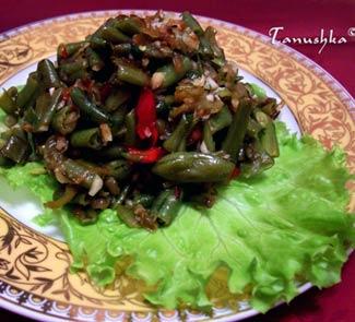 Рецепт Лобио зеленое из стручковой фасоли