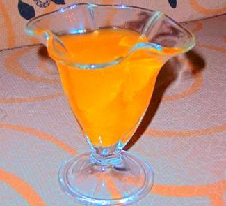 Рецепт Апельсиновое желе