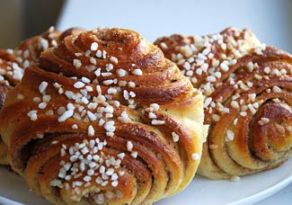 Рецепт Финские булочки с корицей