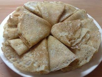 Рецепт Тонкие блины по-старорусски
