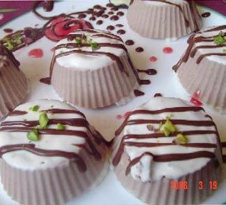 Рецепт Десерт Шоколадное облако