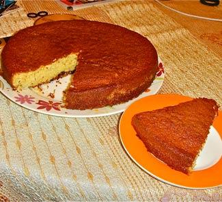 Рецепт Ванильный кекс