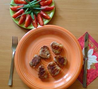Рецепт Жареная телячья вырезка