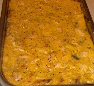 Рецепт Пастель де чокло - чилийская кукурузная запеканка