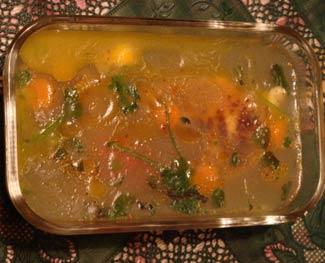 Рецепт Вегетарианский студень