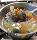 Суп из индейки. Шаг 2
