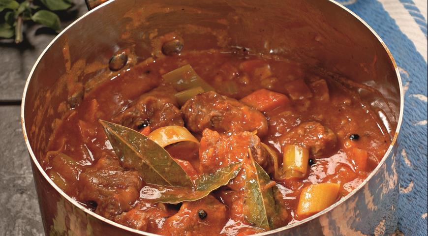 Потушить говядину рецепт с пошагово в