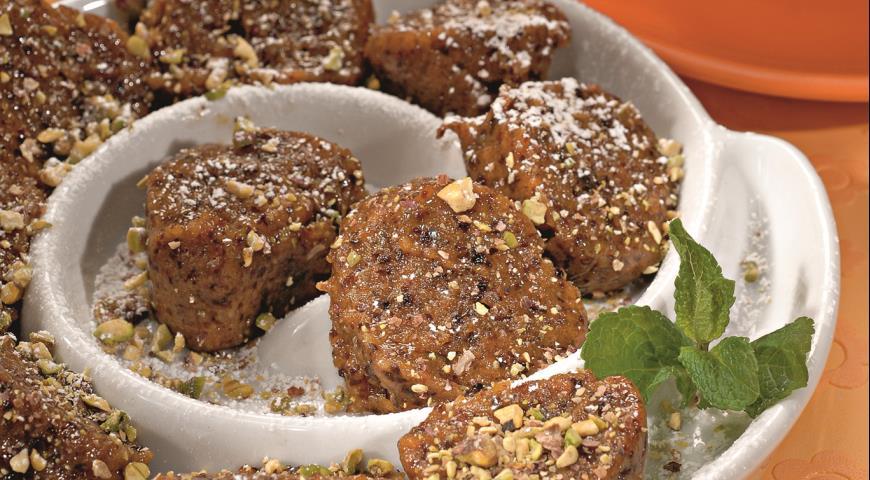 Рецепт Колбаска из сухофруктов