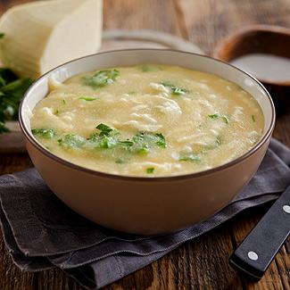 Рецепт Кукурузная каша с сыром в мультиварке