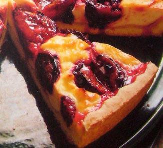 Рецепт Вергильский пирог со сливами