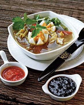 Сото айам, куриный суп