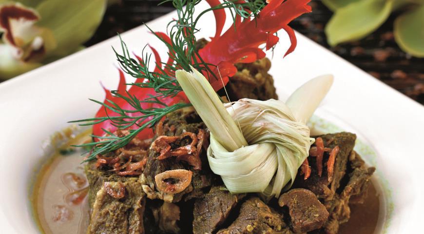 Рецепт Каре камбиг, баранина в кокосовом молоке