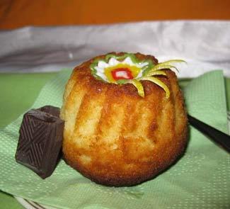 Рецепт Имбирный кекс с кремом Baileys