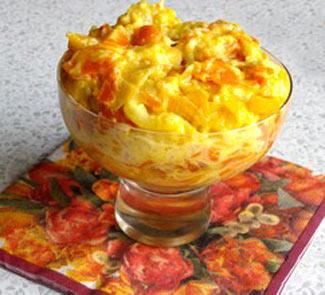 Рецепт Десерт из фруктов и овощей
