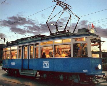Fondue Tram
