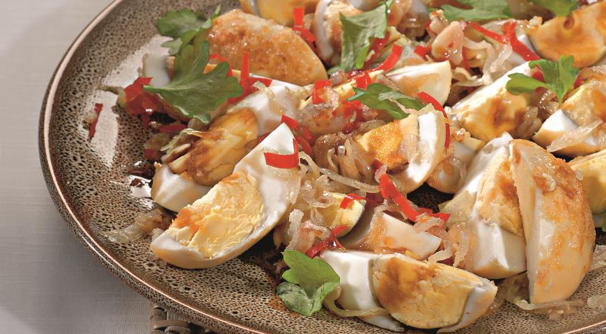 Рецепт Яйца по-тайски