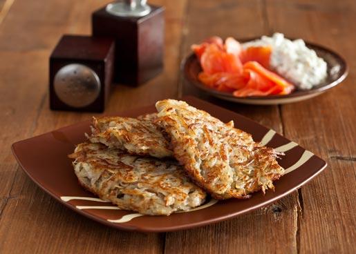 Рецепт Драники с творожным соусом