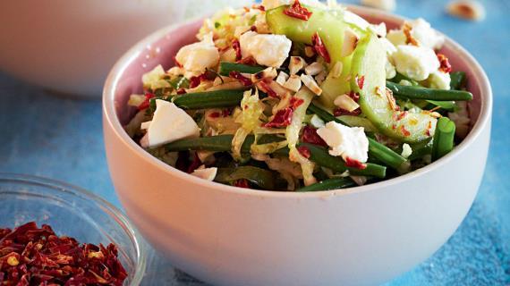 Правильный зимний салат