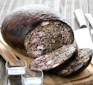 Рецепт Шотландский хаггис (Няня с печенкой)