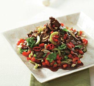 Рецепт Тайский салат с говядиной и чили