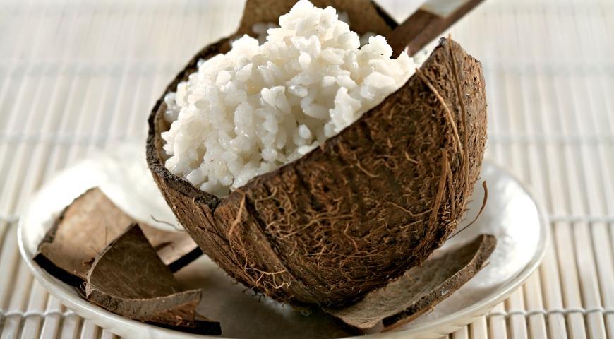 Рецепт Кокосовый рис