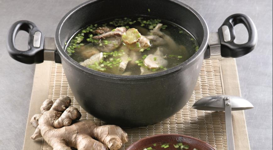 Рецепт Классический куриный бульон по-китайски