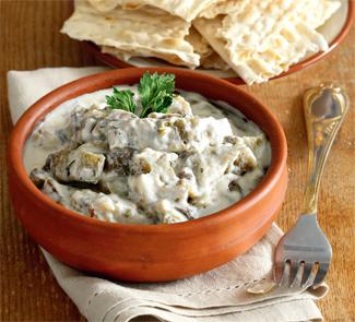 Рецепт Закуска из баклажанов, ближневосточное блюдо