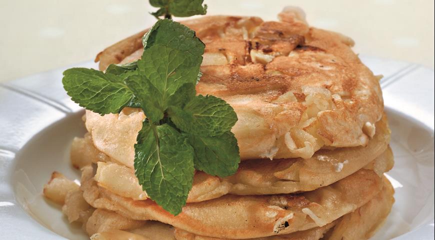 Рецепт Блинчики с яблочным припеком