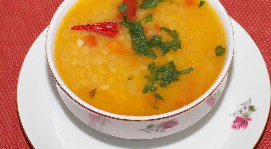 Рецепт Суп с чечевицей по мотивам Масурдал