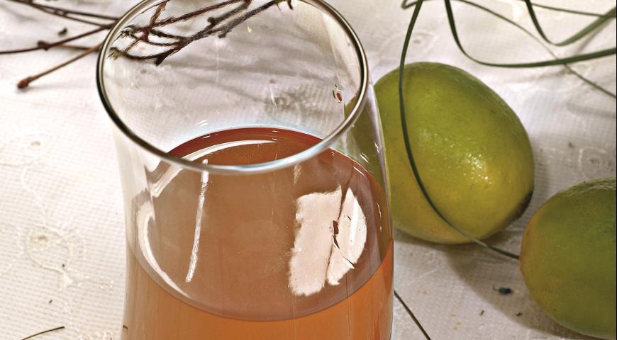 Рецепт Имбирный тонизирующий напиток