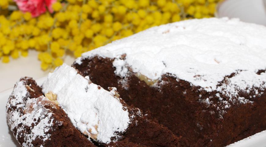 Рецепт Шоколадный пирог из фасоли
