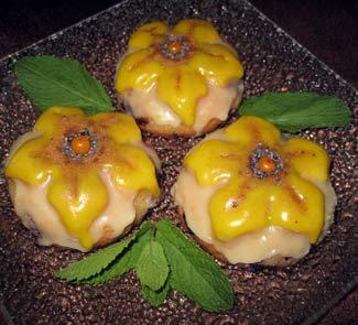 Рецепт Апельсиново-ягодные кексы