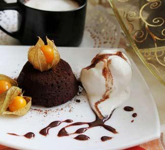 Рецепт Шоколадный фондант