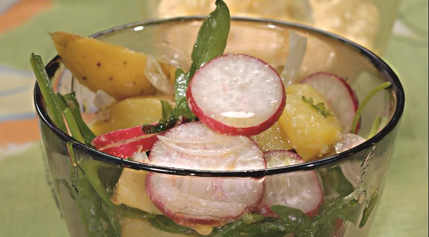Рецепт Весенний картофельный салат