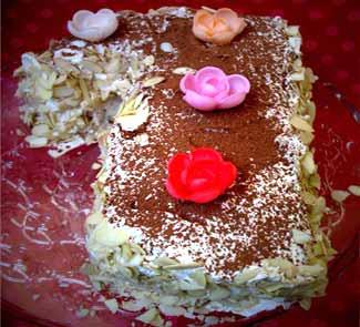 Рецепт Французский торт Марджолайн