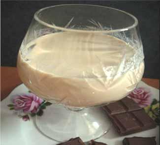Рецепт Сливочно-кофейный ликер