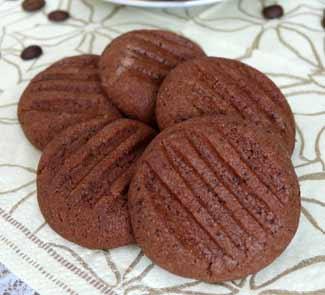 Домашнее печенье с какао