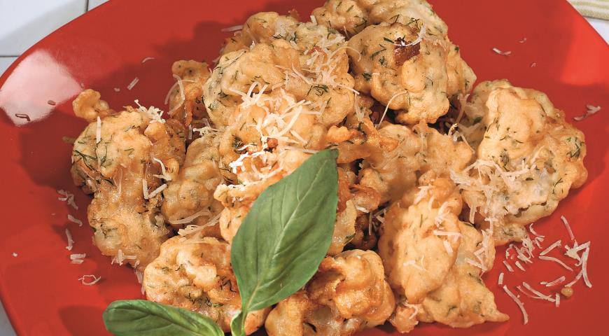 Рецепт Цветная капуста в нежном кляре