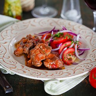 Рецепт Миланское мясное рагу в мультиварке