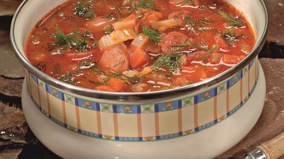 Супы с сосисками