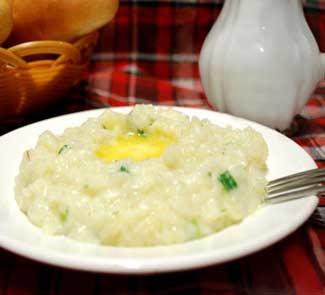 Рецепт Чамп – картофельное пюре по-ирландски