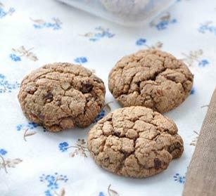 Рецепт Двойное шоколадно-кофейное печенье