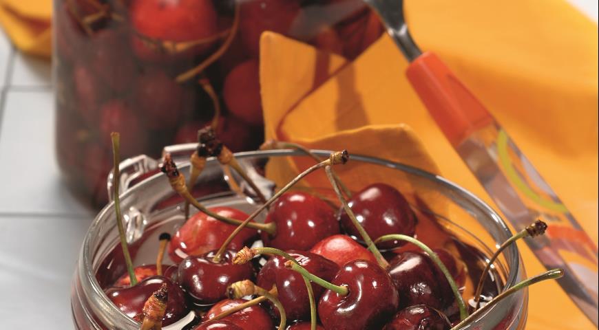 Рецепт Маринованная черешня