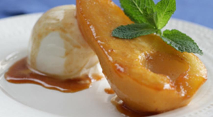 рецепт десерт из груши фото