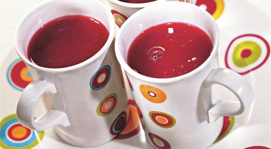 Рецепт Кисель из смородины и малины
