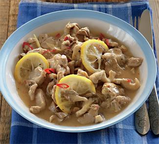 Рецепт Острый лимонный цыпленок