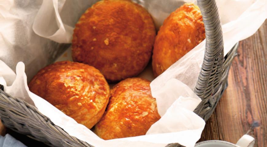 Рецепт Пирожки с индейкой карри и беконом