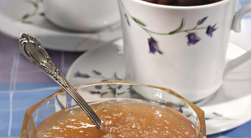 Рецепт Яблочное желе с имбирем