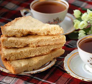 Рецепт Шотландское песочное печенье (Shortbread)