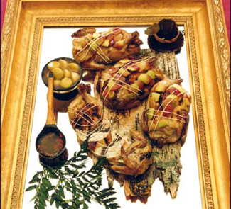 Рецепт Праздничная закуска Дичь для Короля
